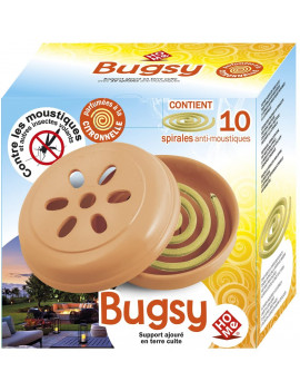Espiral Antimosquits Bugsy