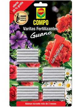 Varetes fertilitzants guano...