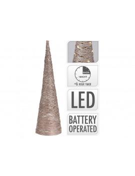 Arbol de Navidad cono con LED