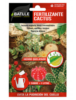 Fertilizante cactus