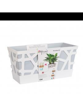 Jardinera Mosaic Flowerbox 40