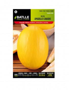 Llavors meló groc canari